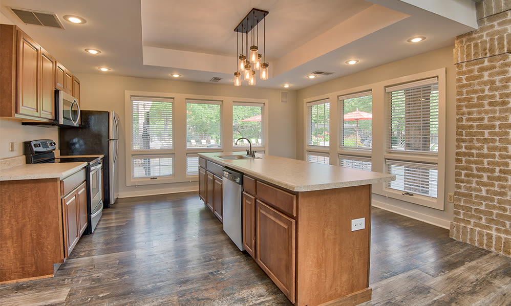 Enjoy apartments with a clubhouse that is great for entertaining at Perry's Crossing Apartments