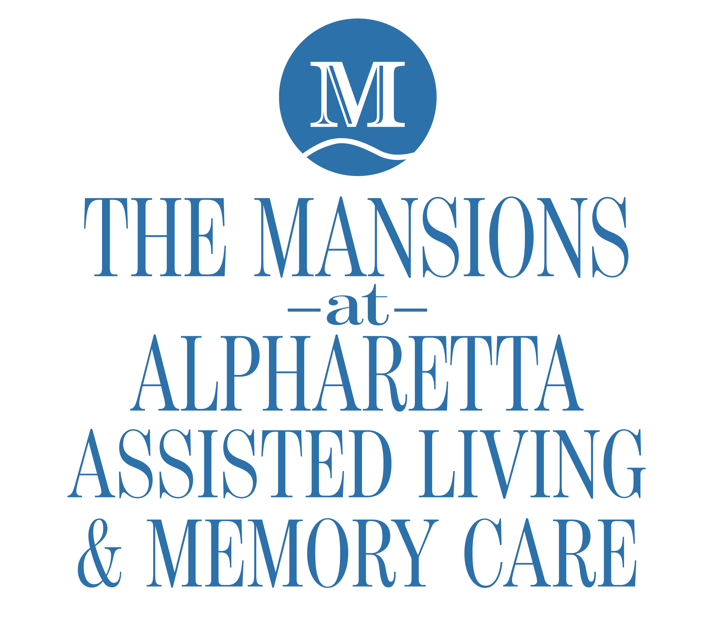 logo for The Mansions at Alpharetta in Alpharetta, Georgia