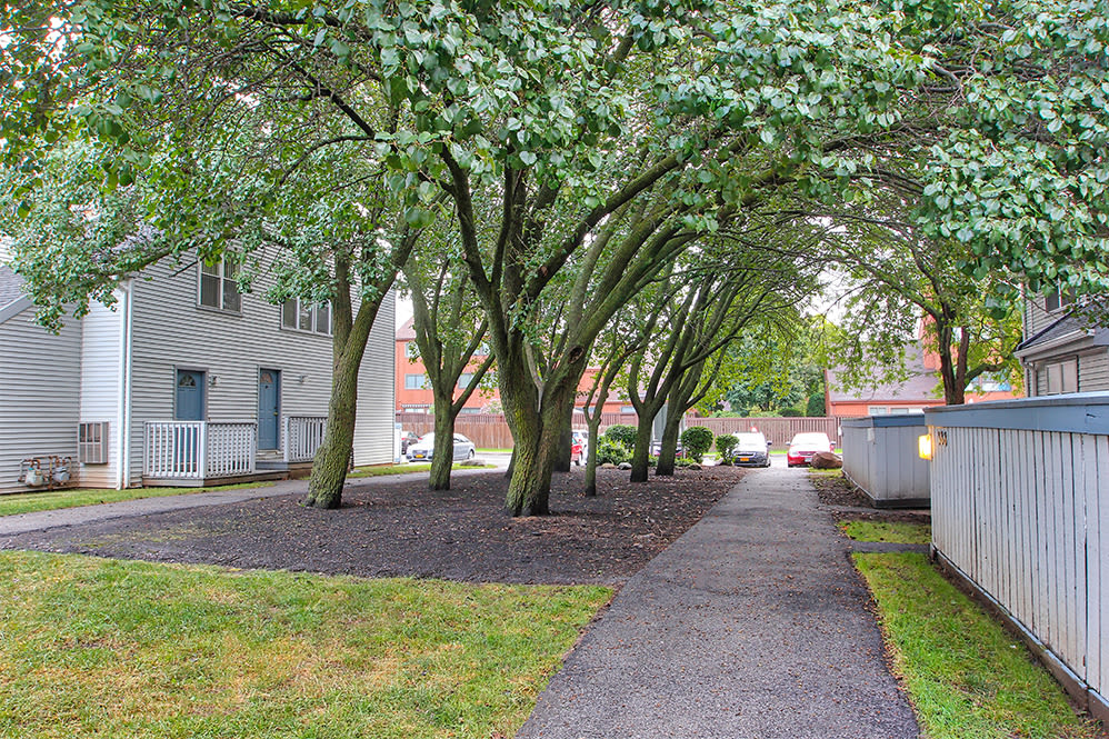 Enjoy apartments with walking paths at Brighton Colony Townhomes