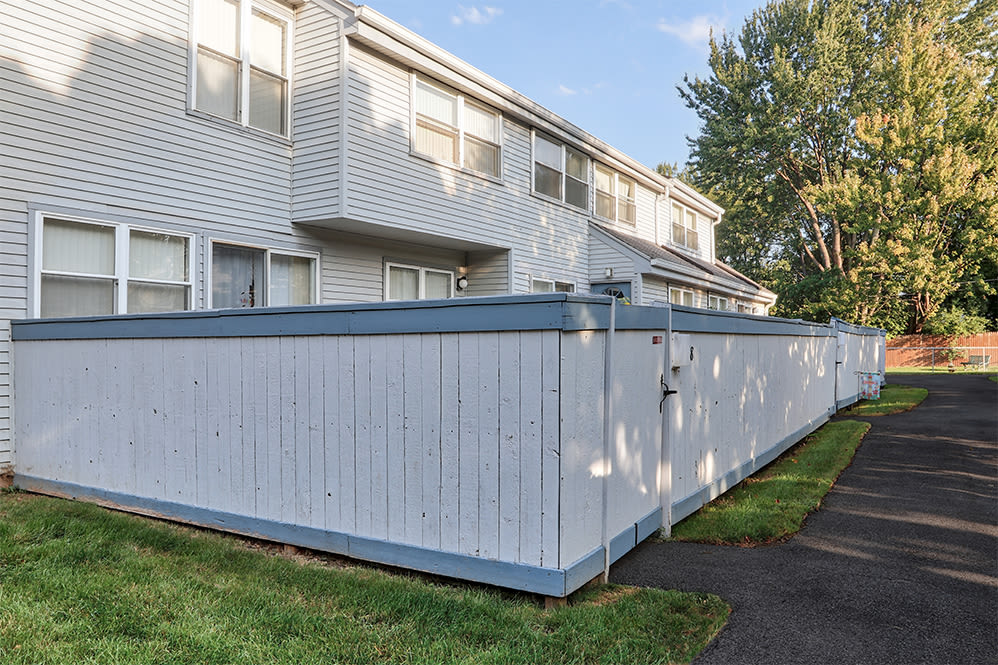 Private spaces at Brighton Colony Townhomes in Rochester, New York
