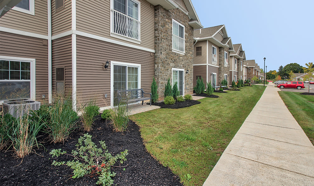 Beautiful view of apartments in Rochester, New York