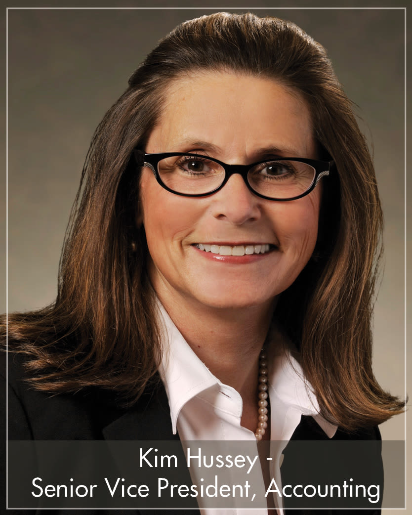 Kim Hussey - Senior Vice President, Accounting