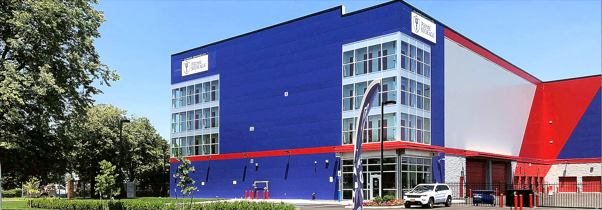 Exterior image of Prime Storage in Queens, NY