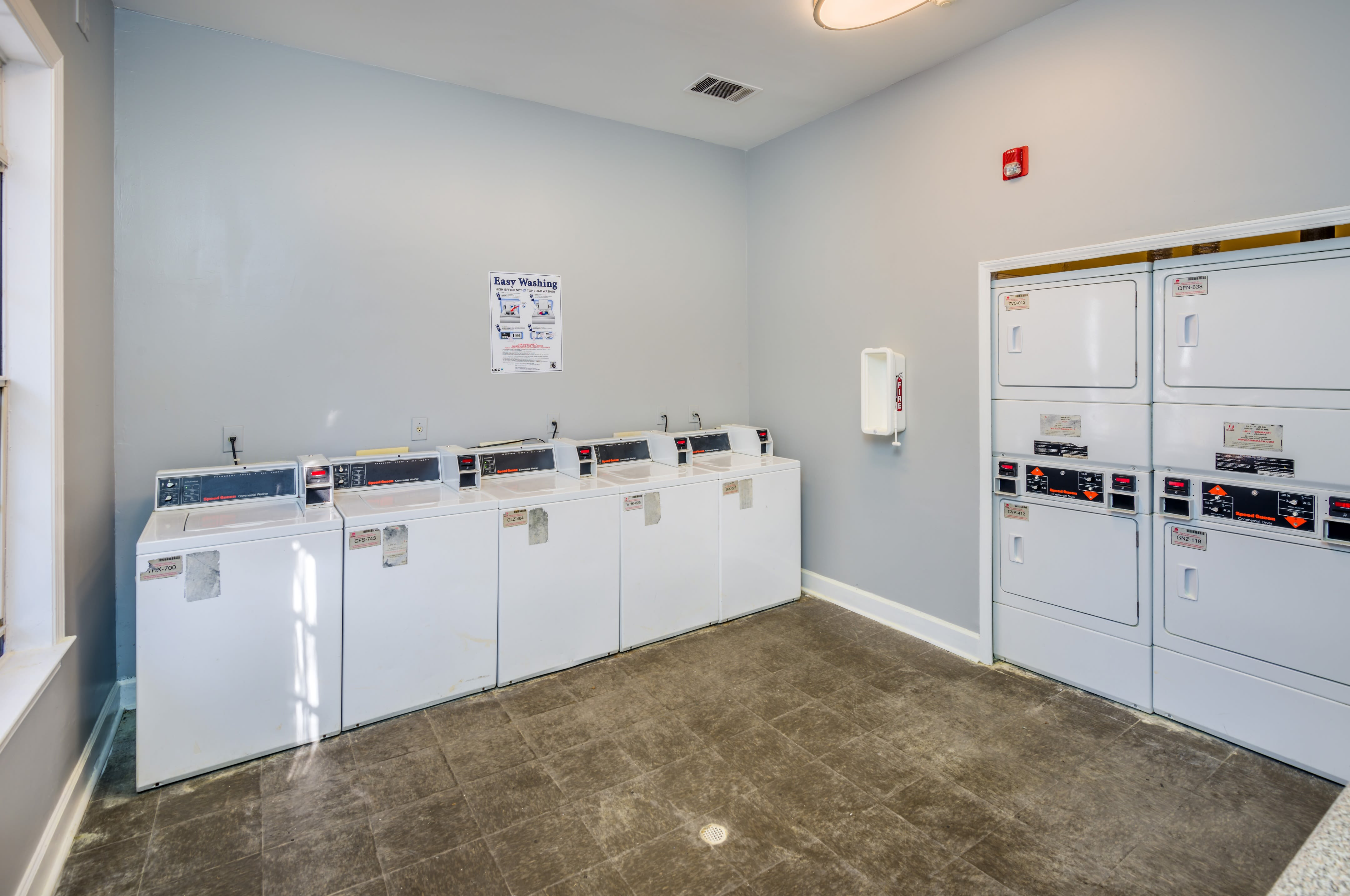 Onsite washers and dryers for residents at The Oxford in Conyers, Georgia
