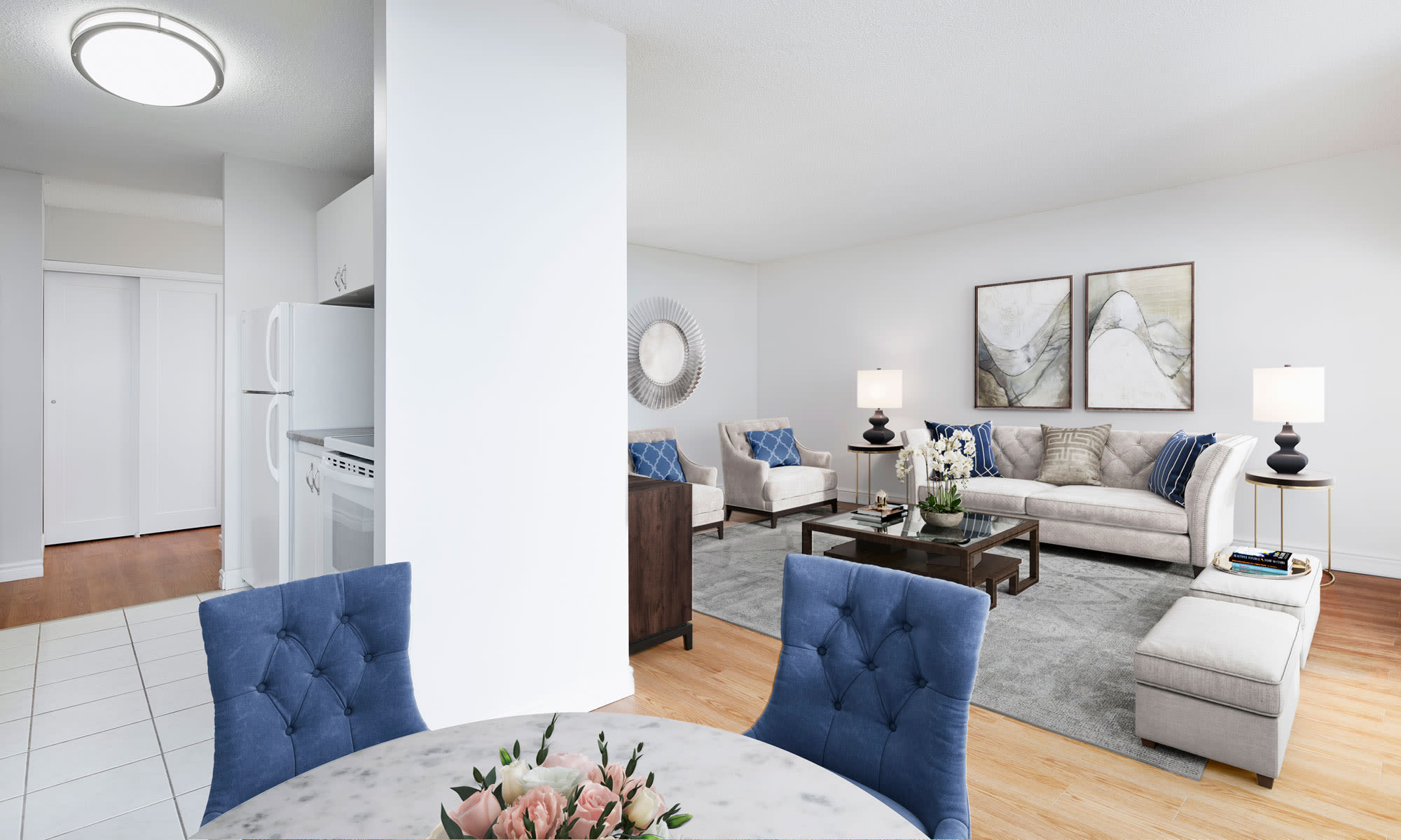 Spring Garden offers a cozy dining room in Halifax, Nova Scotia