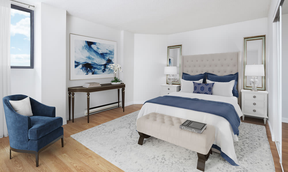 Spring Garden offers a spacious bedroom in Halifax, Nova Scotia