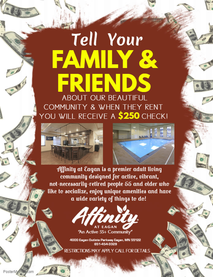 Eagan, MN Senior Apartments in Dakota County | Affinity at Eagan