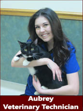 Aubrey, Veterinary Technician at Pocatello Animal Hospital