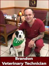 Brandon, Veterinary Technician at Pocatello Animal Hospital