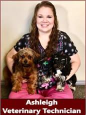 Ashleigh, Veterinary Technician at Pocatello Animal Hospital
