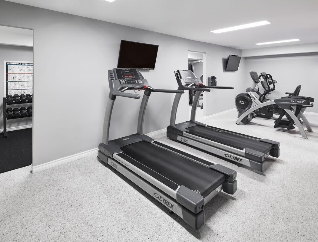 Fitness center at StoneCrest Village in Halifax