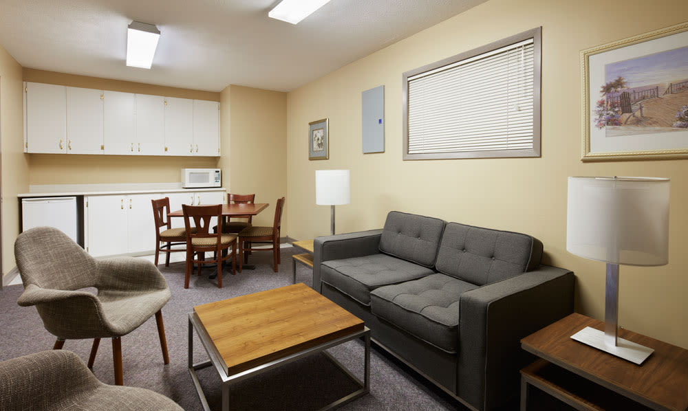 Community room at StoneCrest Village in Halifax, NS