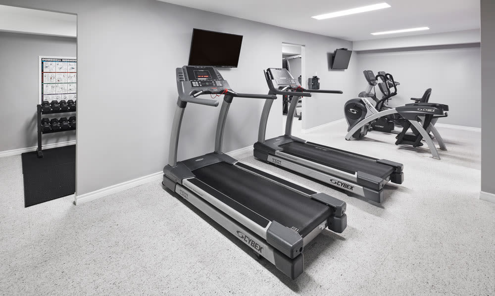 State-of-the-art fitness center at StoneCrest Village in Halifax, Nova Scotia