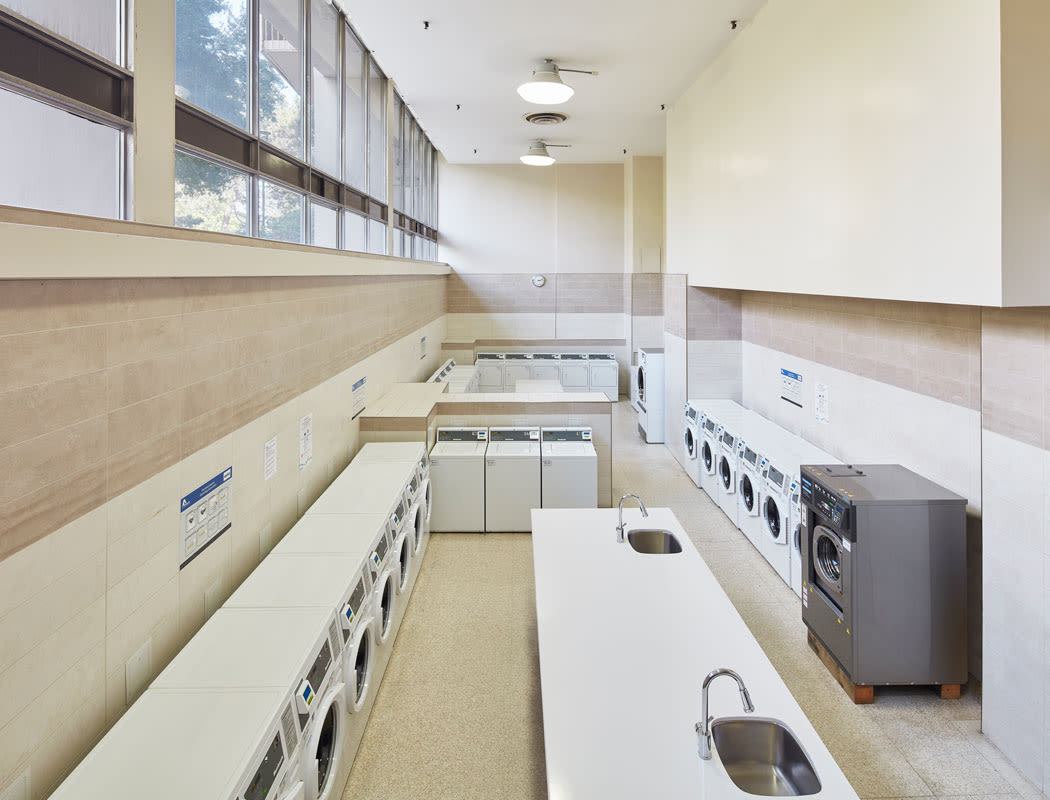 on-site laundry facility at Bretton Place