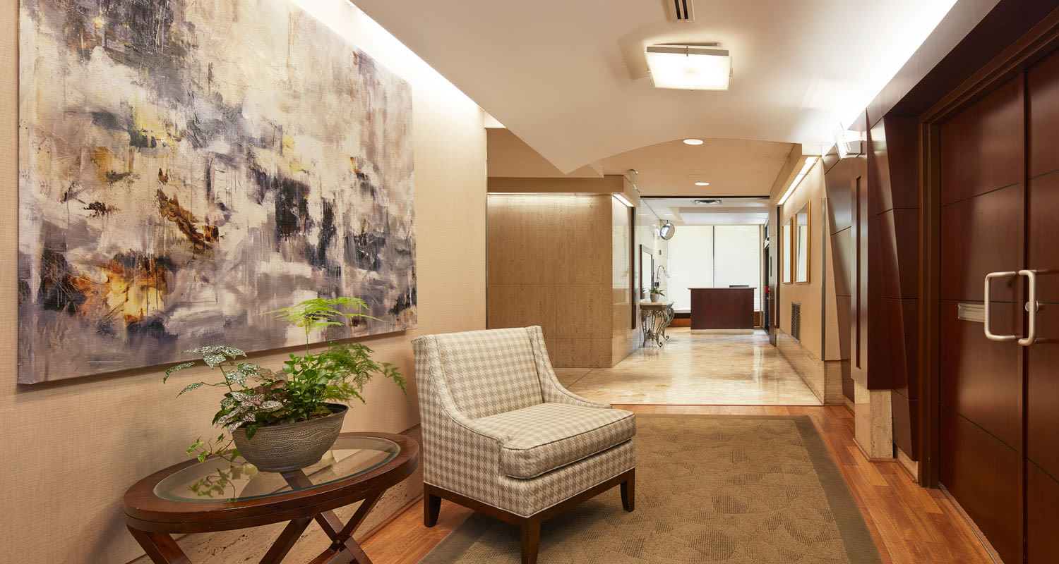 Lobby entrance at Bretton Place