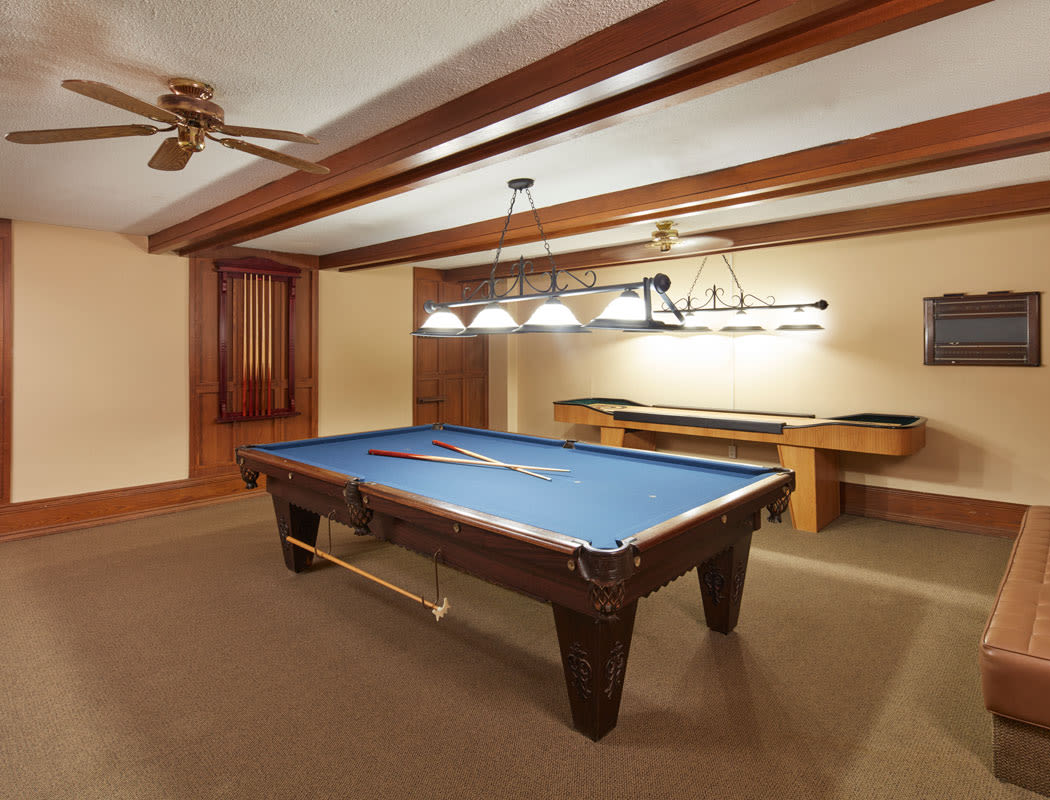 pool Table at Widdicombe Place in Etobicoke, Ontario