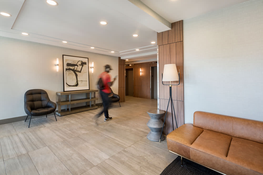 lobby at Glenmore Heights