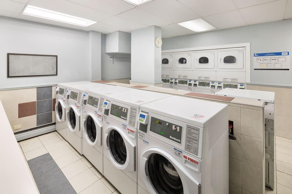 Glenmore Heights in Calgary,AB has an on-site laundry facility