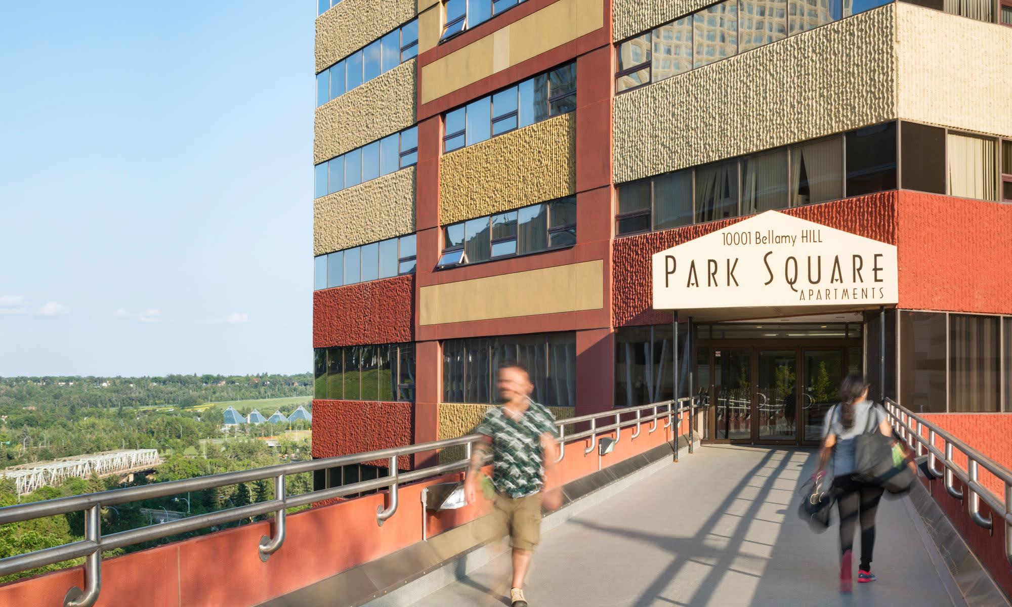 Downtown Edmonton Apartments for Rent | Park Square
