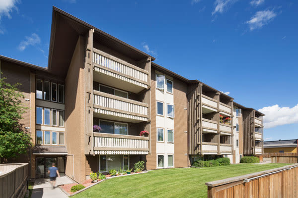 Our apartments in Calgary, Alberta exterior view