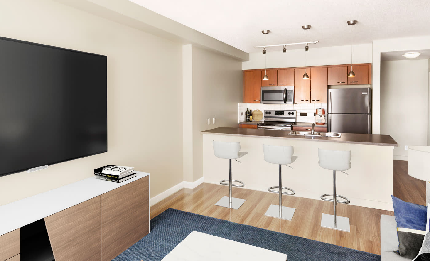 Modern floor plans at Rouleau
