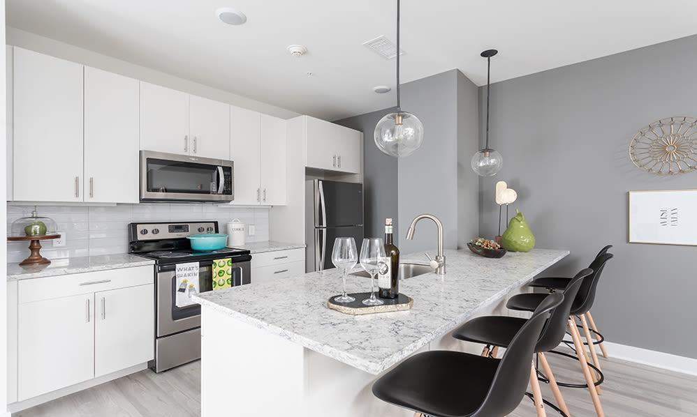 Our apartments in Binghamton, New York showcase a luxury kitchen