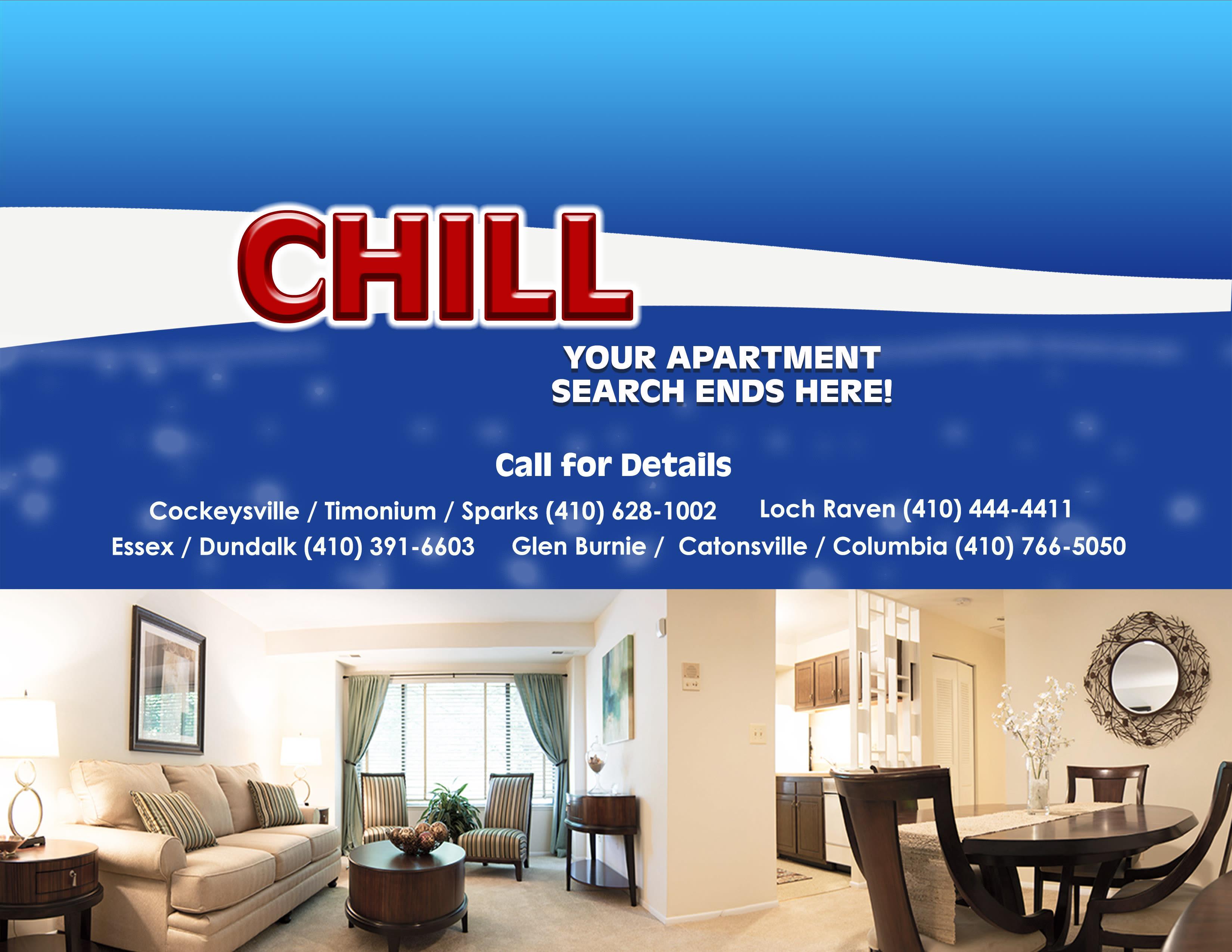 Hendersen Webb Apartments in Cockeysville, Timonium, Sparks, Essex, Dundalk, Glen Burnie, Catonsville, Columbia, Loch Raven