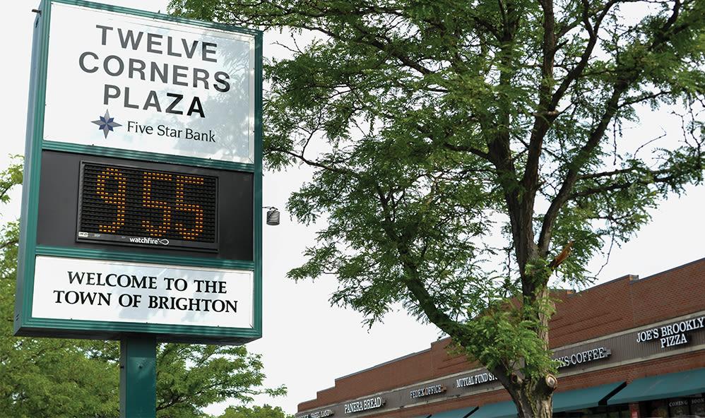 Signage at Brighton