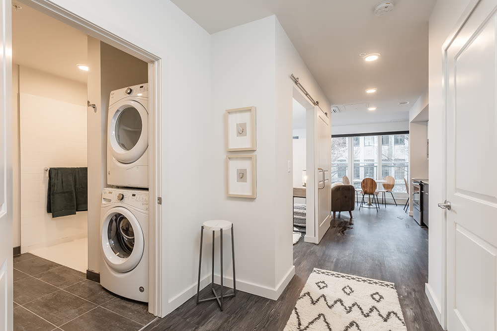 Beautiful apartments with an in-home washer and dryer in Ithaca, New York