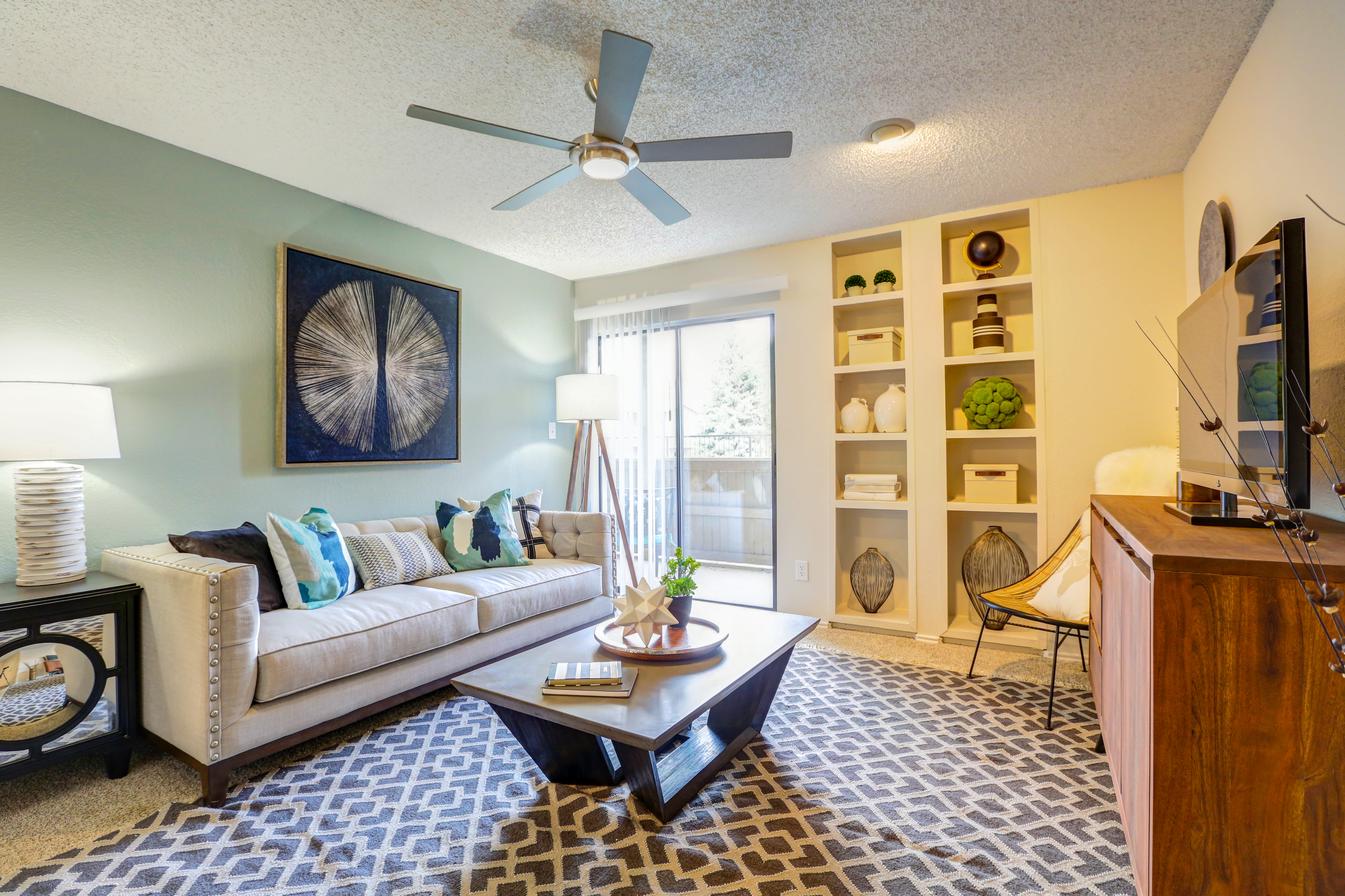 Spacious Floor plans for the apartments for rent in Westminster