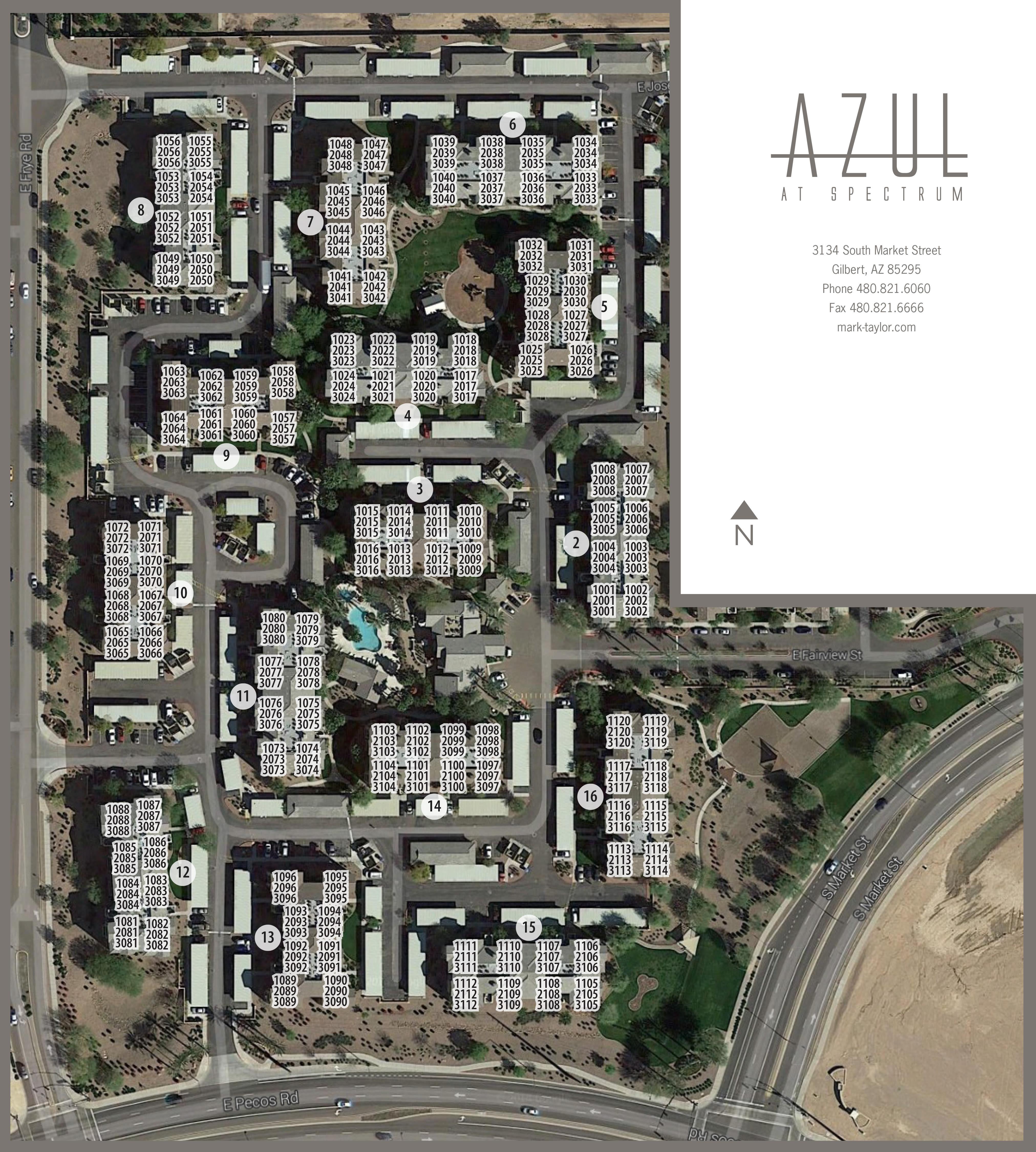 Luxury 1, 2 & 3 Bedroom Apartments In Gilbert, AZ