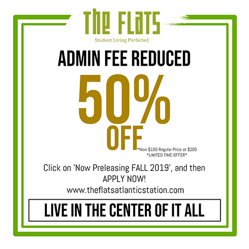 Current Discounts at The Flats