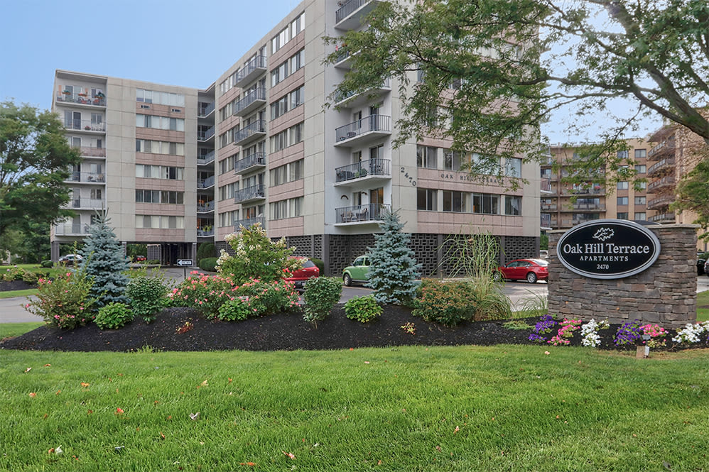 Our apartments in Rochester, New York showcase a beautiful exterior