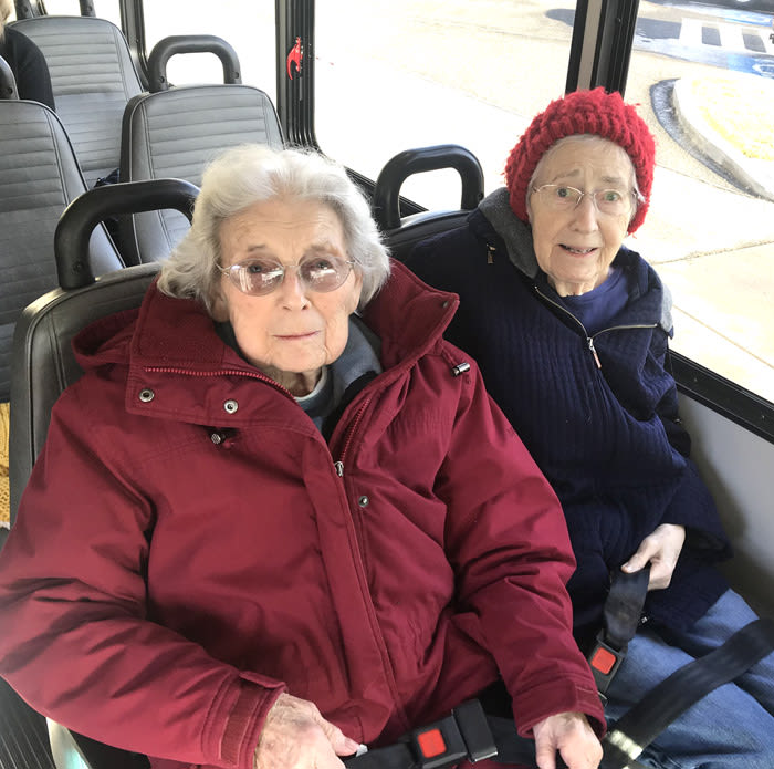 memory care lunch out