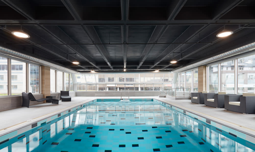 Swimming pool at Halifax Apartments in Halifax