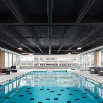 Swimming pool at Halifax Apartments