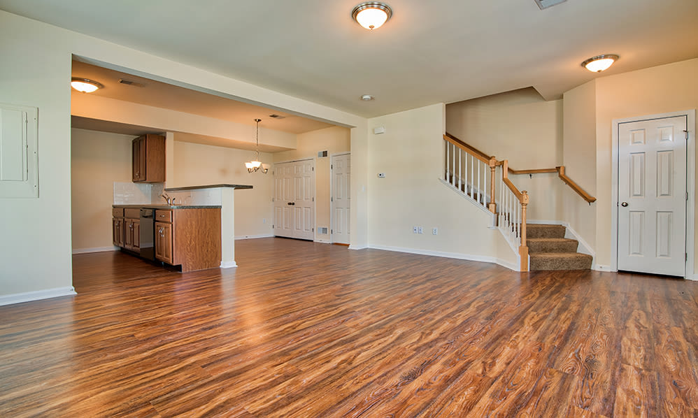 Open floor plans at The Encore at Laurel Ridge in Harrisburg, Pennsylvania