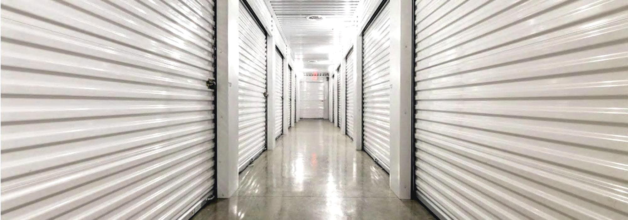 Self storage at Smart Space Self Storage in Richardson, Texas