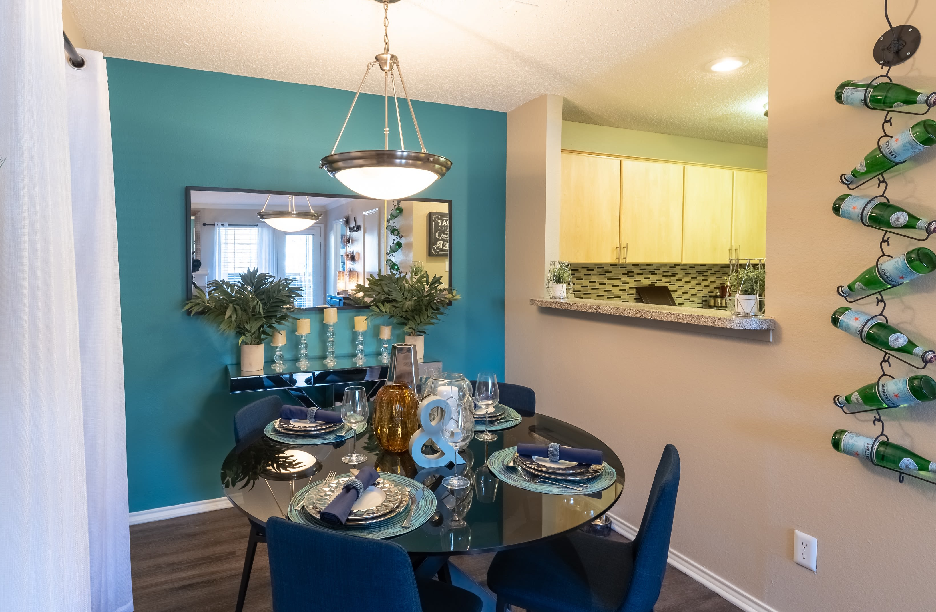 Enjoy the spacious resident cluhouse at Village Green of Bear Creek in Euless, Texas