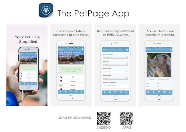 The PetPage App