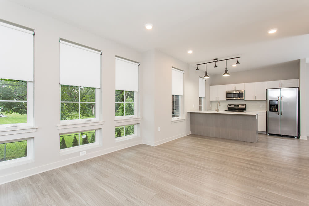 Ample living space at 933 the U home in Rochester, NY