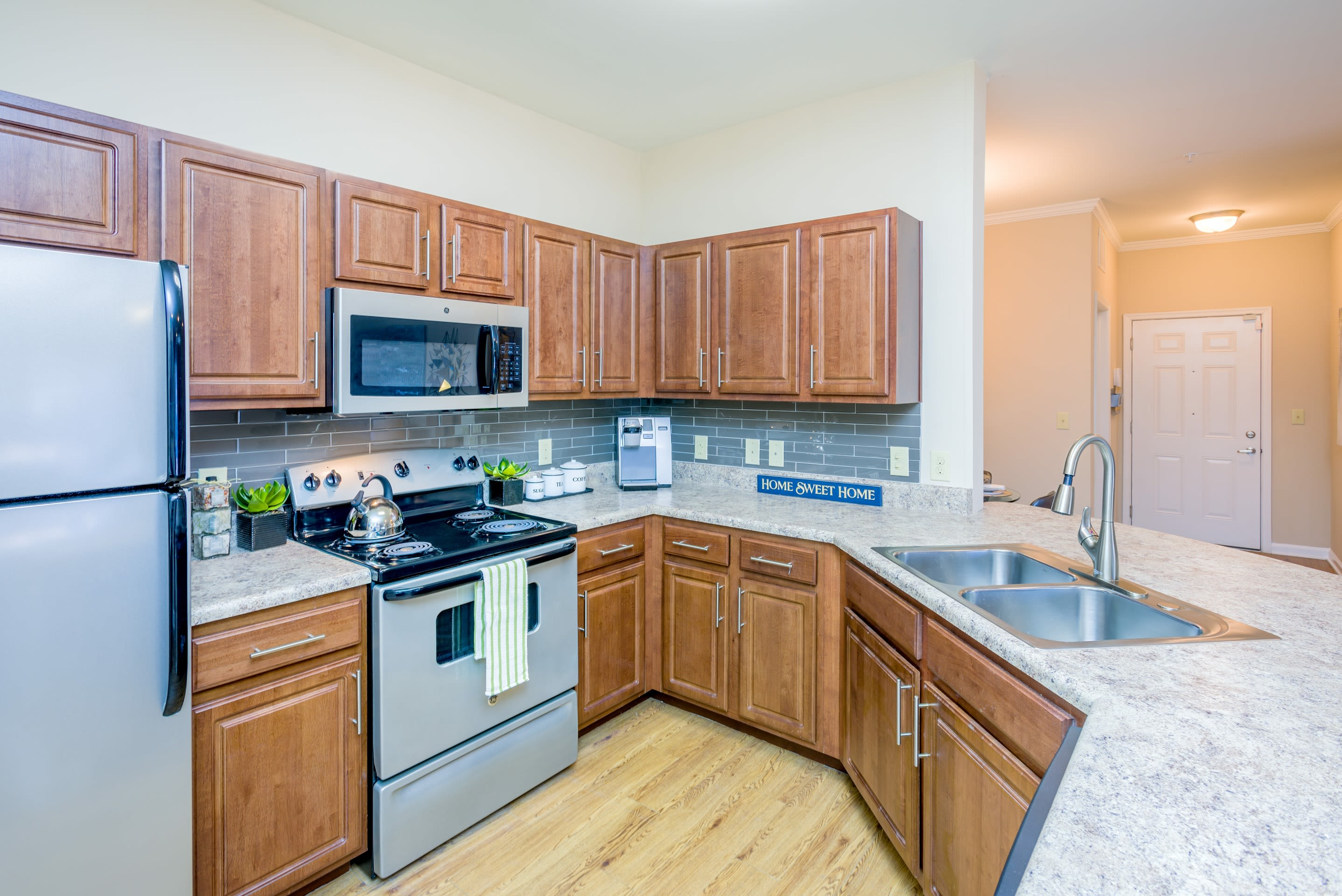 Beautiful apartment interior at Arbor Village in Summerville, South Carolina