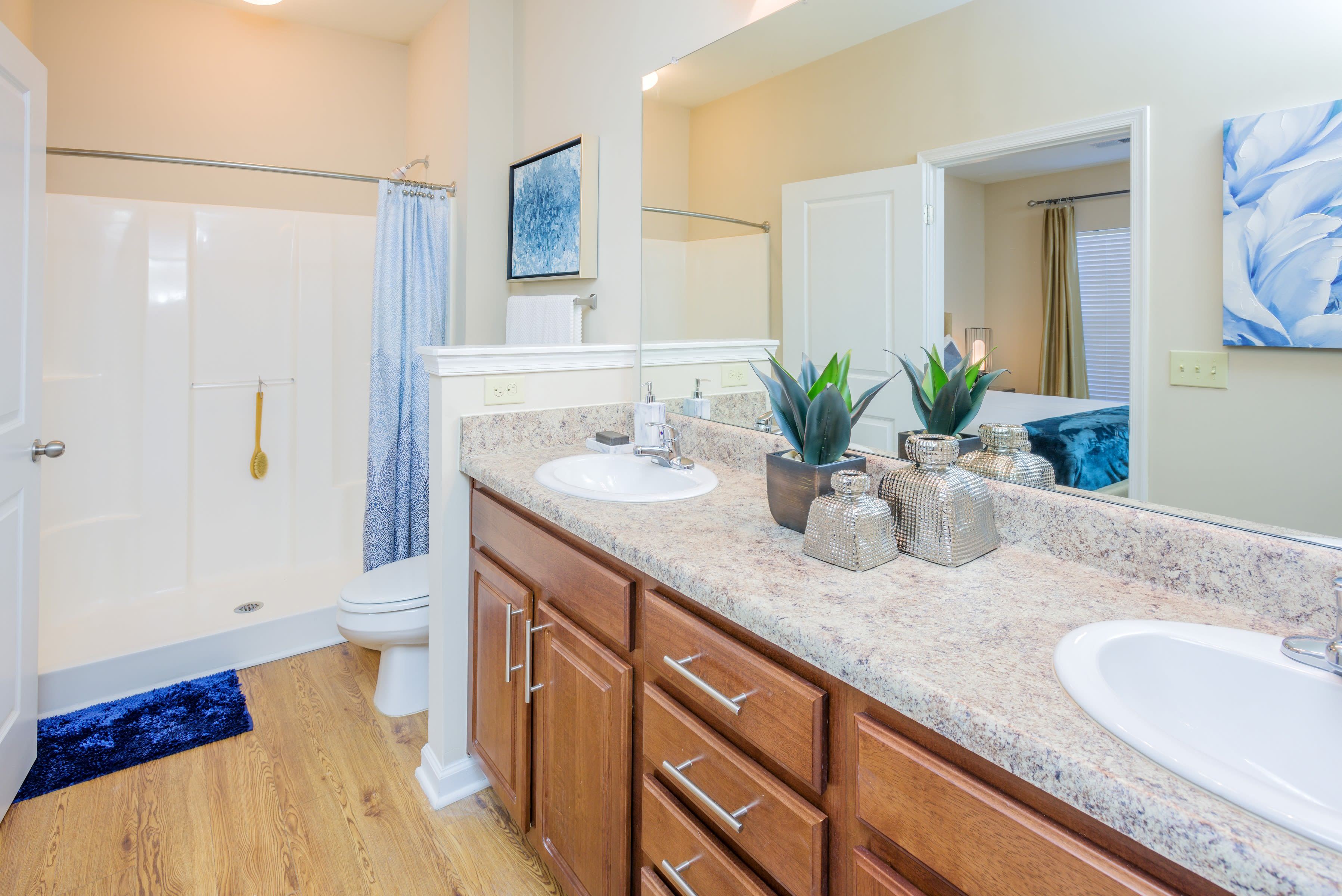Beautiful apartments with a fitness center at Arbor Village in Summerville, SC