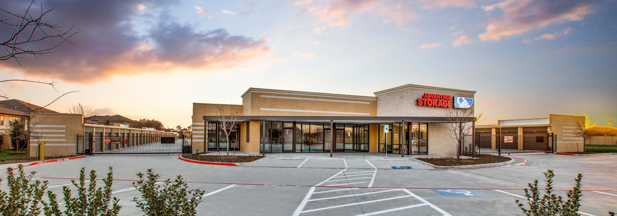 Cross Heritage Storage in Arlington, Texas