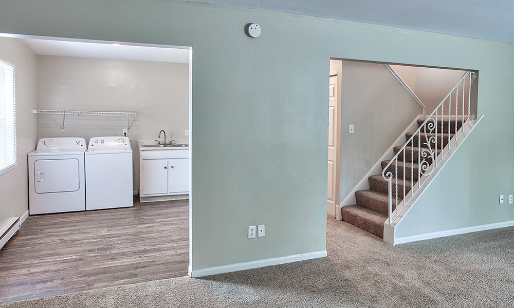 The Summit at Ridgewood  offers an in-home washer and dryer