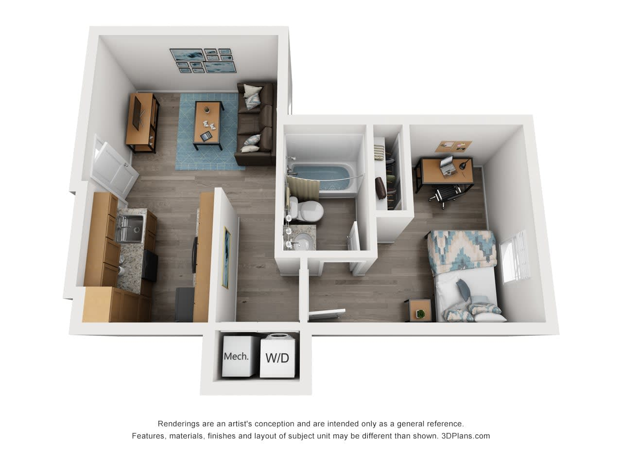 1, 2 & 4 Bedroom Student Apartments in Salisbury, MD