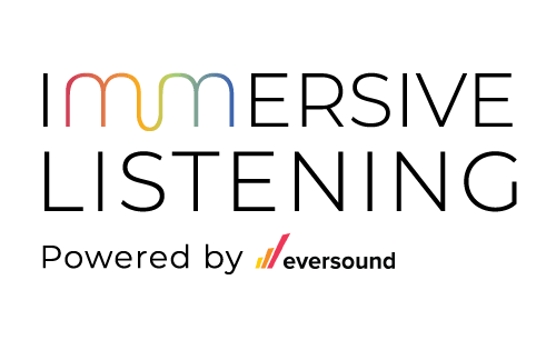 Immersive Listening Powered by Eversound logo