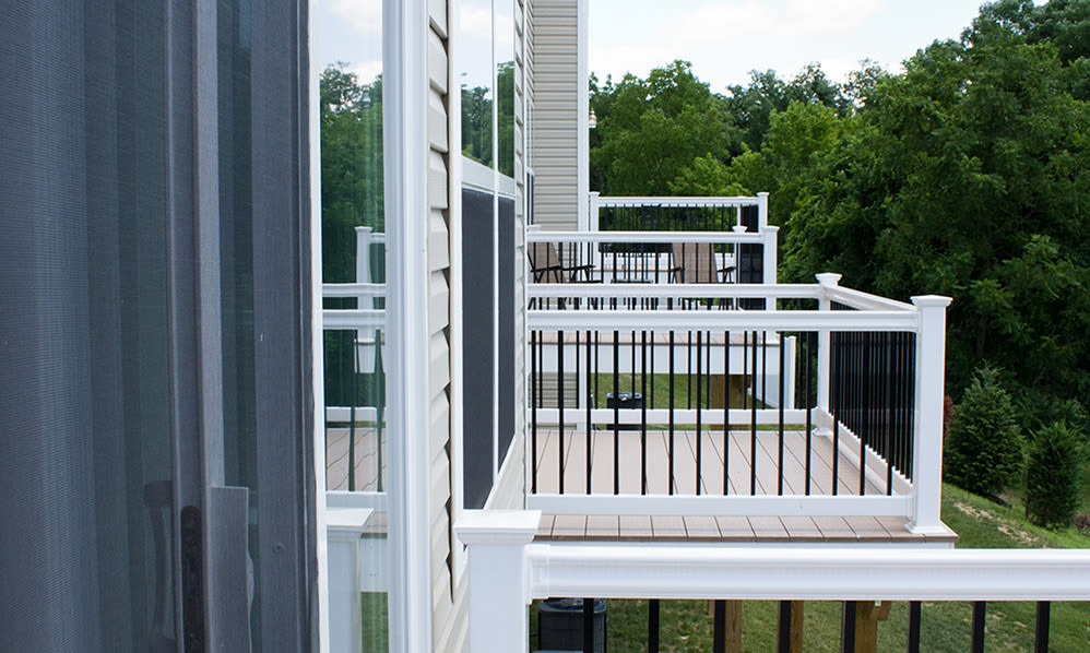 Harrisburg apartments includes living rooms with attached balconies