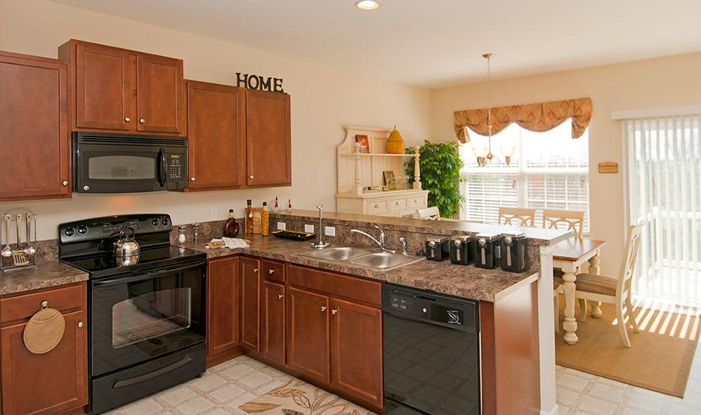 Spacious kitchen in our Harrisburg, Pennsylvania apartments