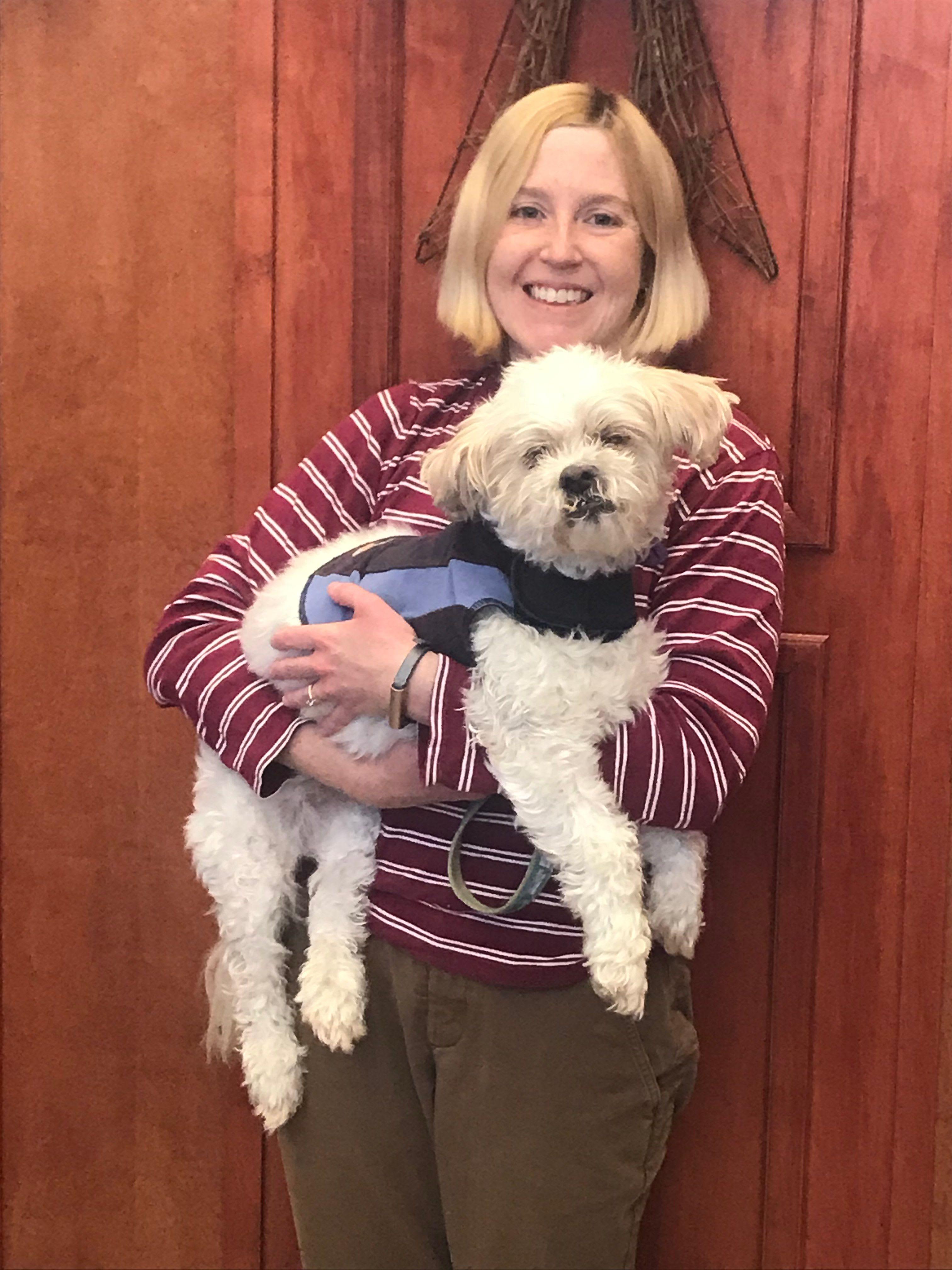 Cassie, LVT at Animal Hospital